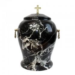 Stone urn UK-A071 / BLACK