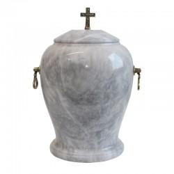 Stone urn UK-A071 GRAY
