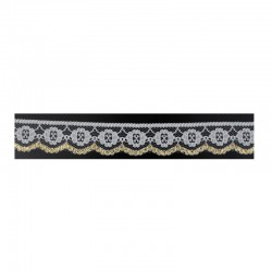 White and gold lace ZK/2,7