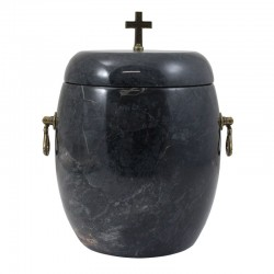 Urna kamienna UK-A081 CZARNA