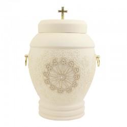 Urna ceramiczna Kremowa-40