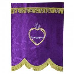 Фиолетовый баннер