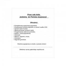 Format A4 czarno-biała